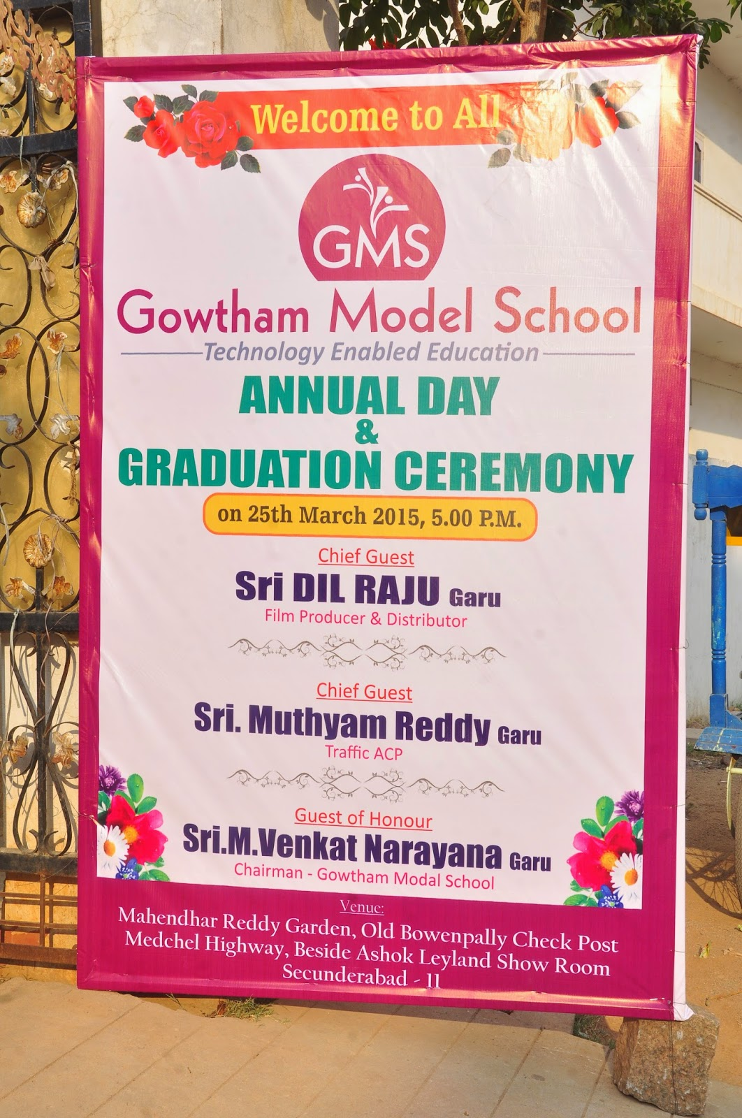Gowtham Model School Bowenpally