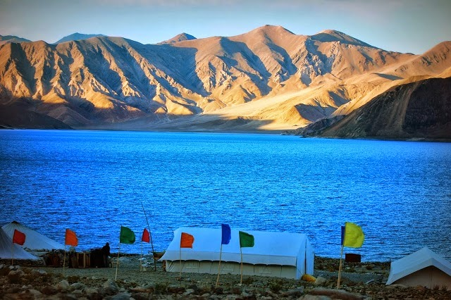 Pangong lake - a unique holiday experience with nature.
