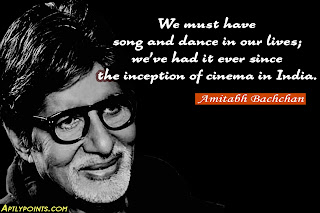 Quotes on Balance In Life By Amitabh Bachchan, Aptly Points
