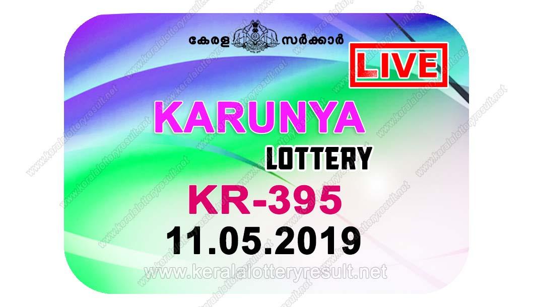 Kerala Lottery Results; 11.05.2019 Karunya Lottery Results