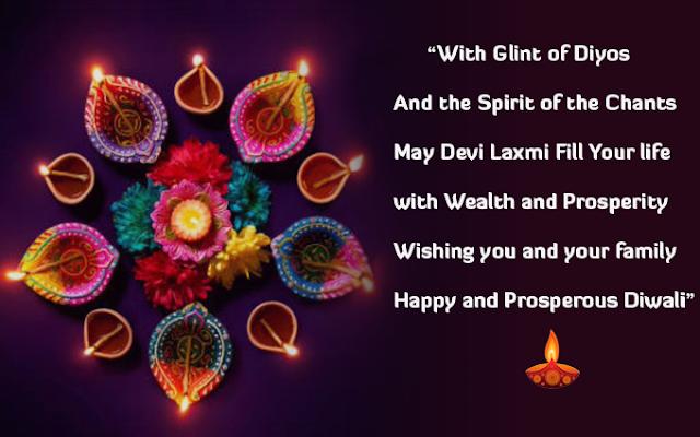 Wishes and Greetings for Tihar, Diwali, Deepawali 2020