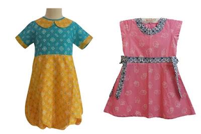 model baju batik anak