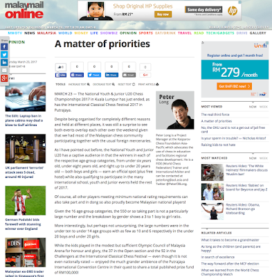 Malay Mail Online: A Matter Of Priorities