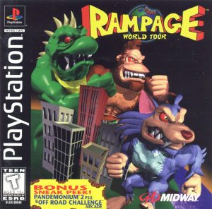 Download Rampage World Tour (1997) PS1