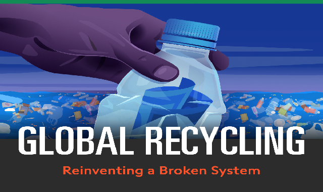 Global Recycling Reinventing a Broken System #infographic