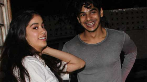 Jhavni Kapoor And Ishaan Khatter Completed One Year In Bollywood