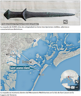 La espada más antigua del mundo es armenia