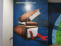 Liverpool Library murals by Peque