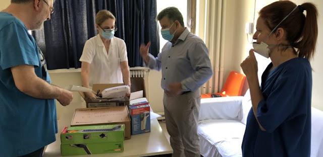 Υποστήριξη δομών πρωτοβάθμιας φροντίδας από την Π.Ε. Μεσσηνίας