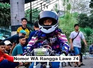 Nomor Whatsapp Rangga Lawe 74