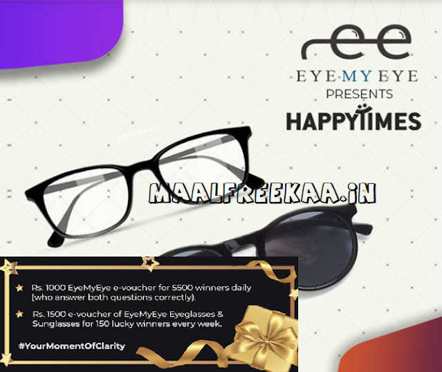 EyeMyEye Happy times Contest