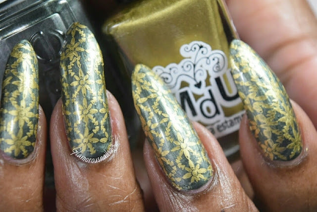 "Stamping Using Bundle Monster ""Fiji Vacation BM-XL113"" Plate"
