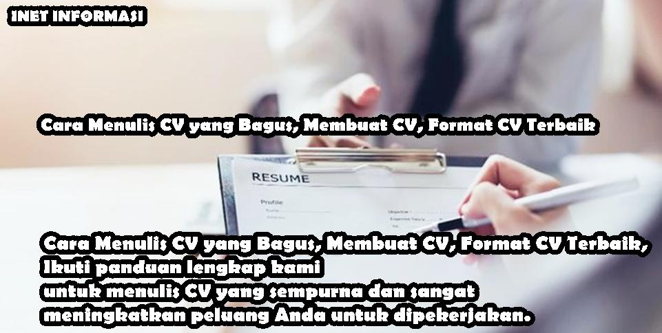 Cara Menulis CV yang Bagus, Membuat CV, Format CV Terbaik, Ikuti panduan lengkap kami untuk menulis CV yang sempurna dan sangat meningkatkan peluang Anda untuk dipekerjakan.