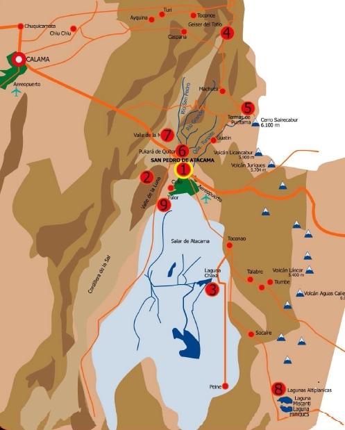 Consejos para recorrer el Desierto de Atacama y viajar a San Pedro de Atacama