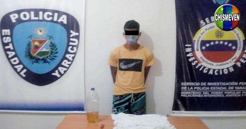 Joven Chavista detenido en Yaracuy por quemar viva a su abuela de 74 años