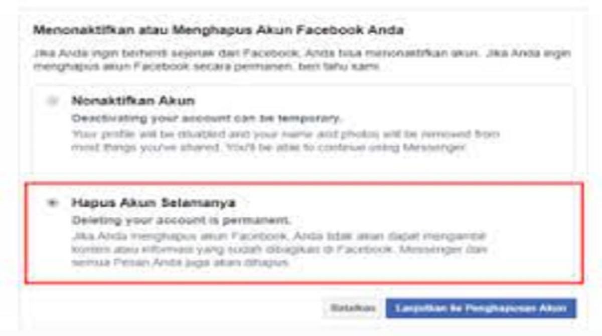 Cara Menghilangkan Facebook Gratis