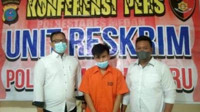 Aniaya Pengendara Ojol, Pria di Medan Ditangkap Polisi