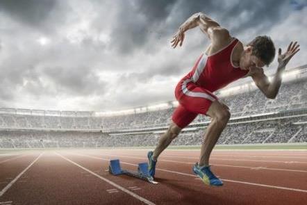 sprint mengecilkan perut buncit