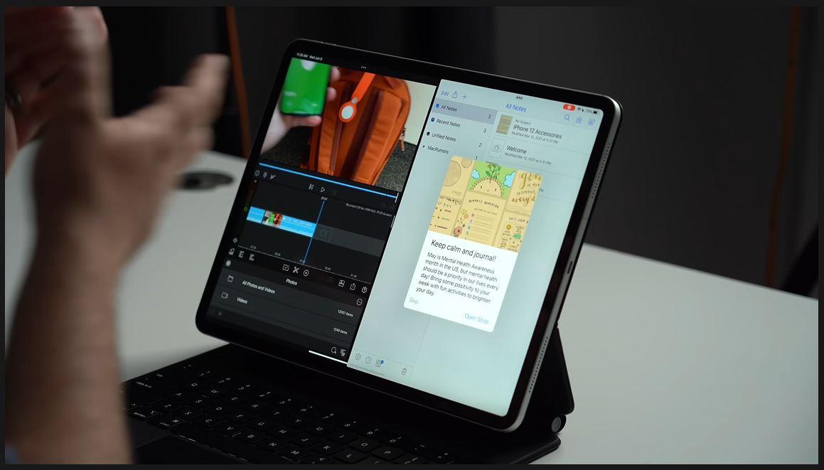 fitur multitasking iPad OS 15