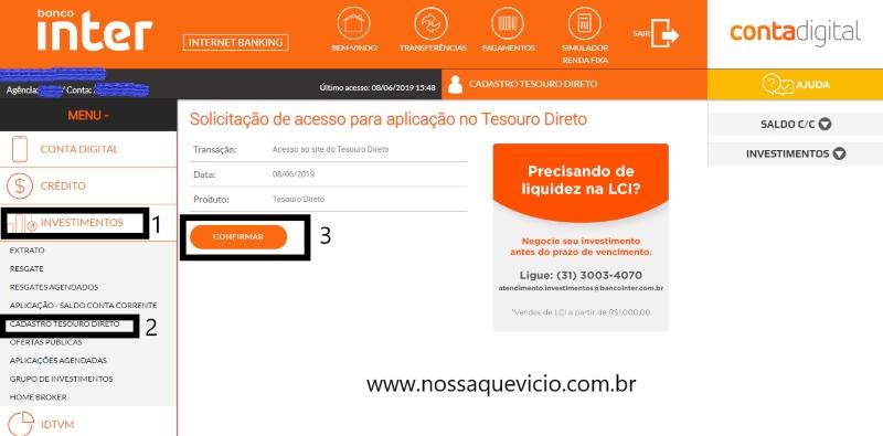 TESOURO DIRETO: COMO INVESTIR USANDO O BANCO INTER