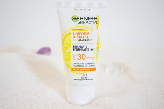 Hidratante Facial Uniform&Matte FPS 30 Garnier