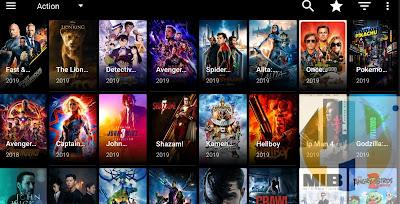Typhoon TV v2.0.19 MOD (sin publicidad) todos los videos en 720p / 1080p.