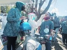 Gebrakan Perdana Drive Thru Rapid Antigen Gratis di Maluku Tenggara
