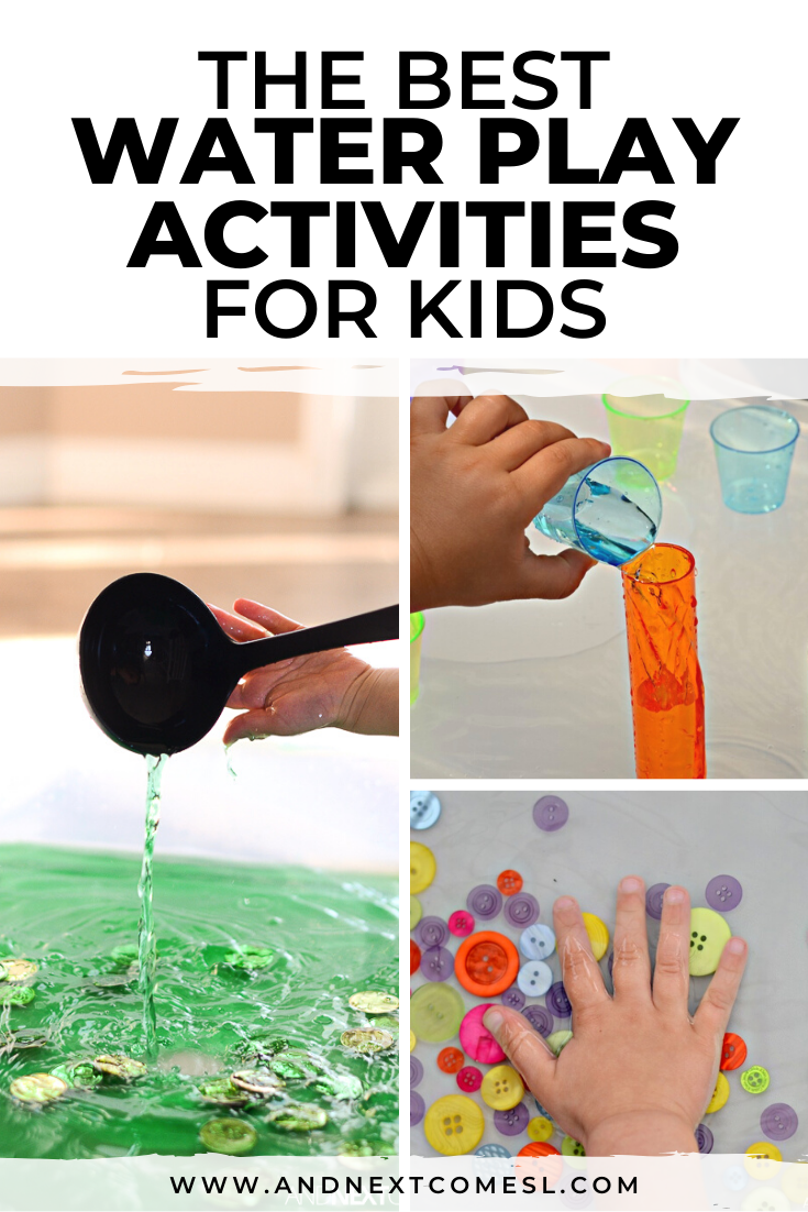 Water play for kids: fun sensory bin ideas and activities for toddlers and preschoolers