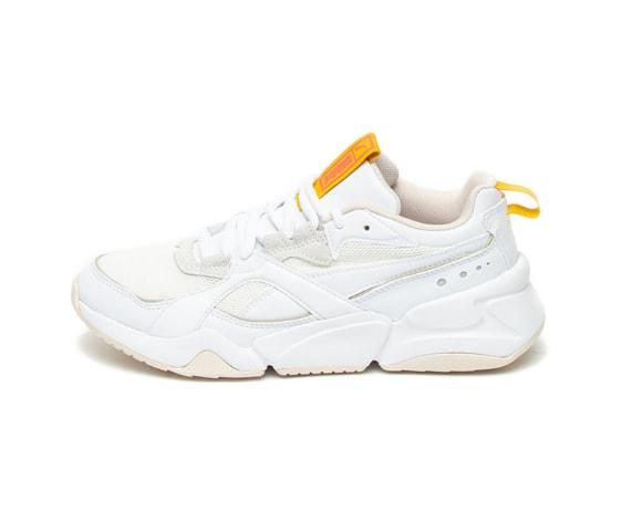 Pantofi sport de piele ecologica, cu talpa masiva Nova