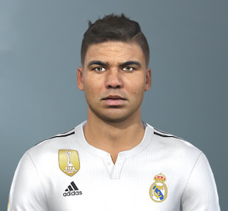 PES 2020 Faces Casemiro by The White Demon