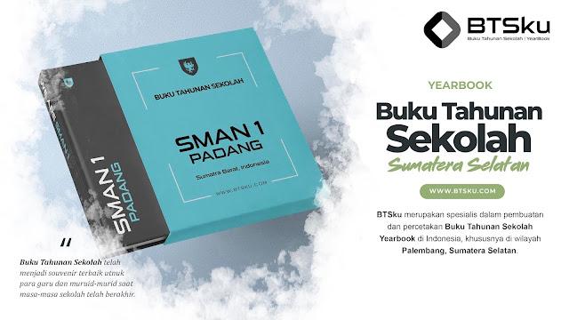 Buku Tahunan Sekolah Yearbook Kota Palembang