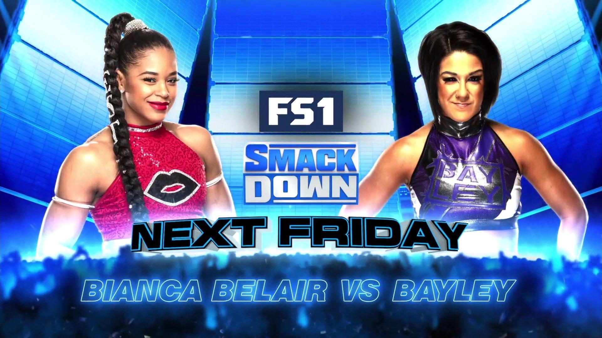 Dois grandes combates são anunciados para o próximo Friday Night SmackDown