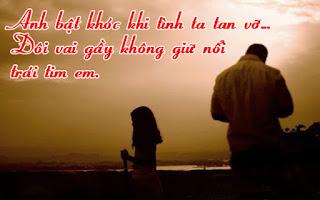 Tuyển tập  những câu  kể  hay về tình yêu buồn tan vỡ