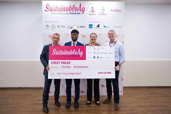 India's Stellapps Wins Rabobank SustainableAG Asia Challenge