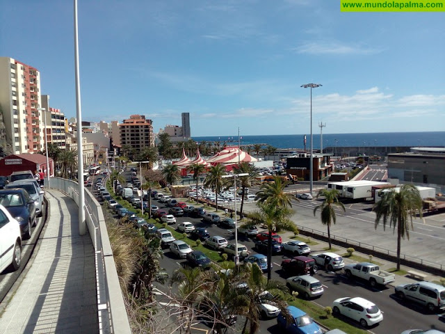 Santa Cruz de La Palma a la espera de la apertura de los aparcamientos del Muelle
