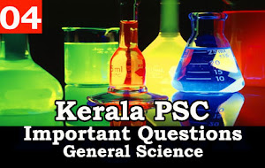 Kerala PSC - Science Study Material