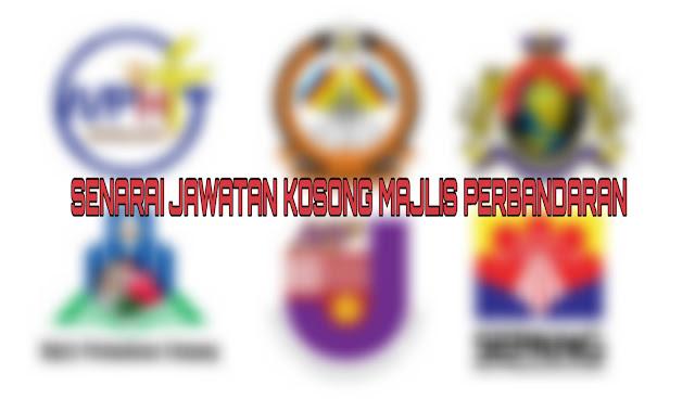 Senarai Jawatan Kosong Majlis Perbandaran 2021