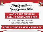 Pilkada Soppeng 2020, KPU: Ayo Ke TPS Cukup Pakai Masker' Ta Saja