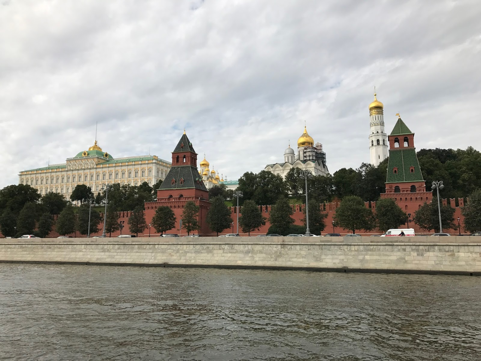 Passeio de Barco pelo Rio Moskva