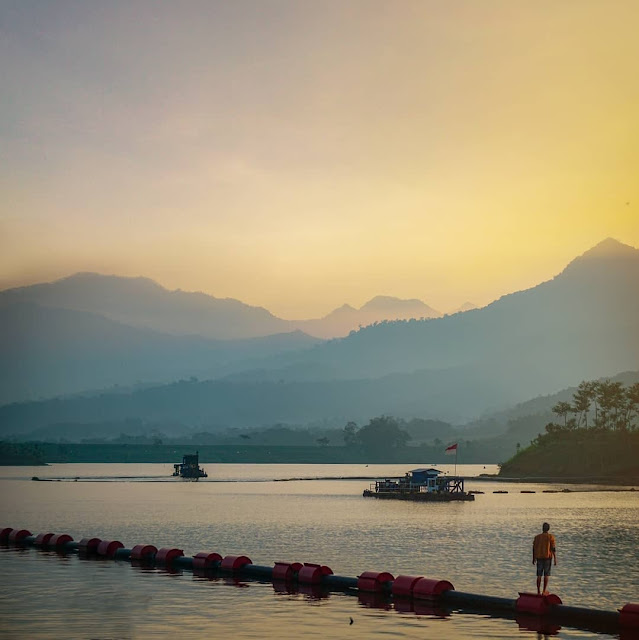 Waduk Selorejo Malang Jawa Timur