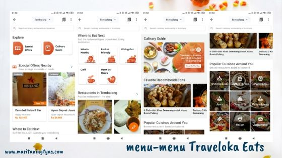 menu traveloka eats