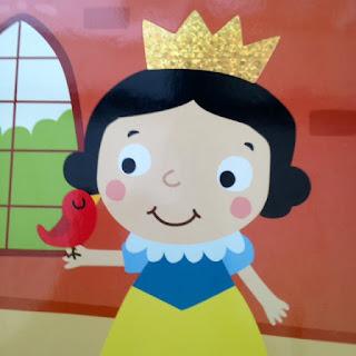 Les contes de fées à toucher: la couronne de Blanche Neige