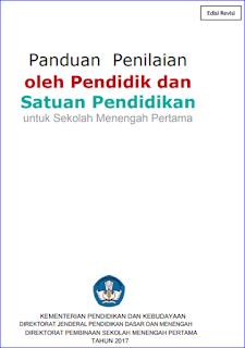 Download Panduan Penilaian Kurikulum 2013 SMP/MTs Revisi 2017 - Cetakan Ketiga