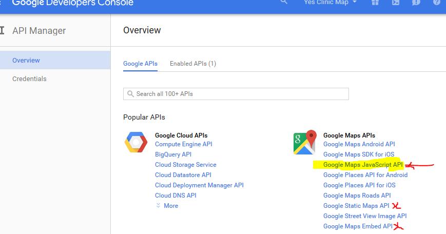 MetadataConsulting.ca: Google Maps API Credentials - HTTP ... on code.google apis console, api 1608 audio console, api vision console,
