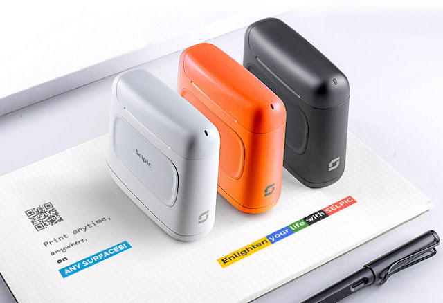 SELPIC - the Quick-Drying, Handheld Printer Launches Today