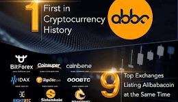 Pertama dalam sejarah, Alibabacoin Terdaftar di 9 Platfrom Exchange Secara Bersamaan