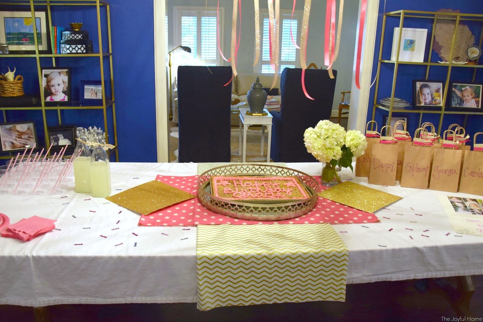 november birthday parties the joyful home