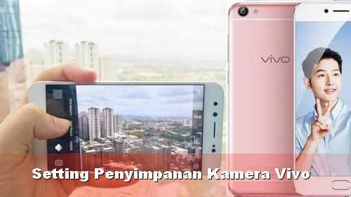 Mengubah penyimpanan kamera Vivo ke kartu SD