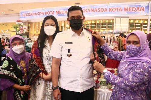 Bobby Nasution Ingin Pemko Medan Jadi Pasar bagi Produk UMKM