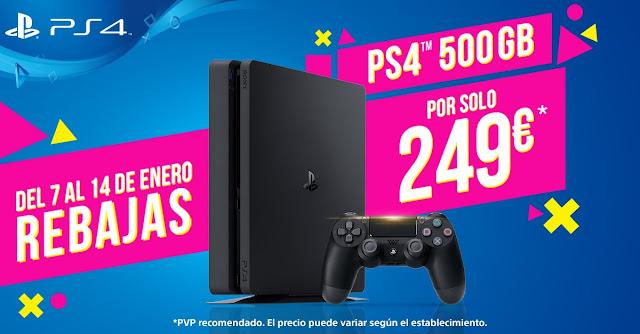 Las rebajas de enero llegan a PlayStation 4